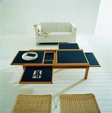 Minimalist Coffee Table by Multipurpose Minimalist Coffee Table With Pullout Drawers And