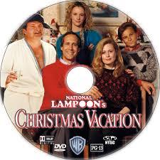 christmas vacation dvd label 1989 r1 custom art