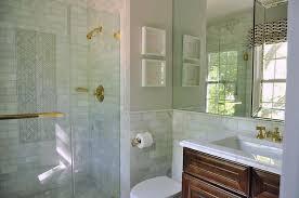 tiled baths gray cement bathroom floor tiles with fringe rug transitional