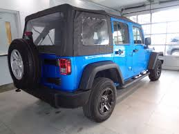 jeep wrangler unlimited sport blue 2015 used jeep wrangler unlimited 4wd sport at banks chevy serving