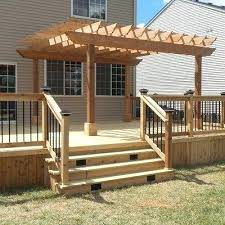 deck building designs and plans ideas backyards modern storage