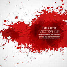 red ink stains and paint vector background 02 vector background