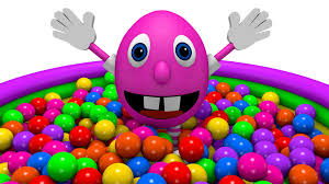 funny colors the ball pit show funny colors learning for kids with mr eggie