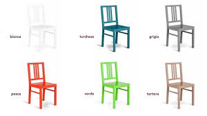 sedie per cucina in legno gallery of sedie moderne classiche italia contract rustiche sedie