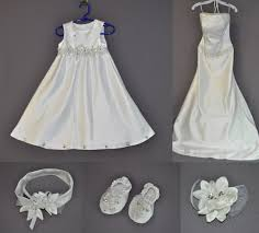 baptism accessories sleeveless baptism gown mimics s wedding dress fairy