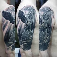 angel warrior tattoo 55 most amazing angel tattoos and designs