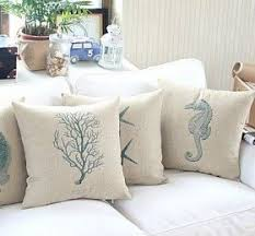 theme pillows coastal decorative pillows decor