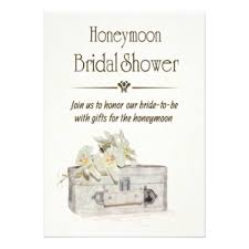 honeymoon bridal shower honeymoon invitations announcements zazzle