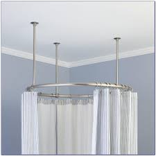 best picture of circle shower curtain rod all can download all