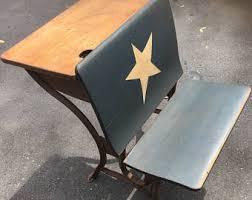Antique Childrens Desk Vintage Desk Etsy