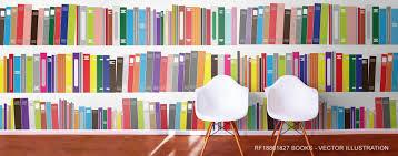 book murals u0026 library scene wallpaper
