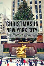 the perfect new york city christmas itinerary food and buckets