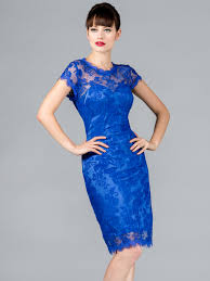 blue lace dress blue lace cocktail dress hairstyle for women
