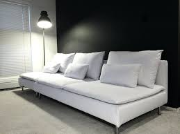 white linen sofa cover soderhamn sofa cover crisp whites get the look with a soft white