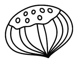 Coloriage  un marron  Turbulus jeux pour enfants