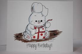 rabbit birthday card bunny rabbit birthdaycard white rabbit