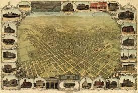 Map San Jose by Stone U0027s Birdseye Map Of San Jose California 1901