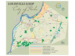 Ohio River On Us Map by Louisville Loop Louisvilleky Gov