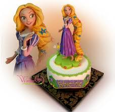 tangled cake topper rapunzel cake cakes and cupcakes for kids birthday party