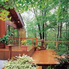 innovative sloped backyard deck ideas 1000 images about slope