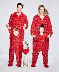 family pajamas s reindeer footed pajamas created for