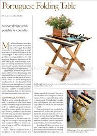 Wood Folding Table Plans Woodwork Projects Amp Tips For The Beginner Pinterest Gardens - 539 best gifts for woodworkers images on pinterest woodworking