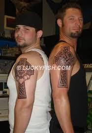 Celtic Cross Half - outstanding sleeve big celtic cross design for