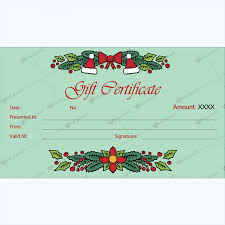printable gift certificate templates word layouts