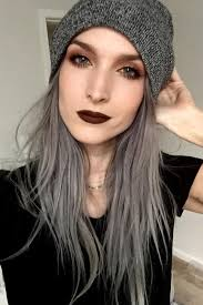 black grey hair grey hair looks and an easy tutorial that will have you dying your