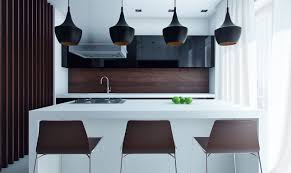 Modern Galley Kitchen Design Cool Small Modern Galley Kitchen Come With Rectangle Shape White