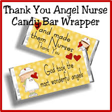 Free Printable Halloween Candy Bar Wrappers by Nurse Angel Thank You Candy Bar Wrapper Everyday Parties