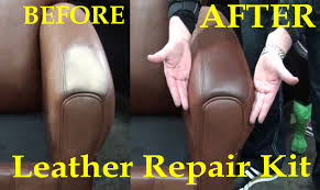 Leather Sofa Dye Repair by Fix Worn Leather Aniline Leather Repair Kit Youtube