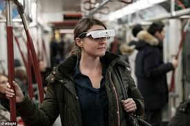 What Is Legally Blind Prescription Glasses Star Trek Like Glasses Allow Blind People To See Daily Mail Online