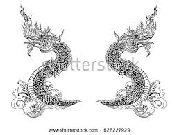 tattoo dragon water thailand tattoo download free vector art stock graphics images