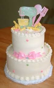 kitchen themed bridal shower ideas bridal shower cake that stirs up the cooking theme see more