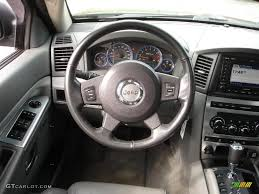 2007 jeep grand cherokee srt8 4x4 medium slate gray steering wheel