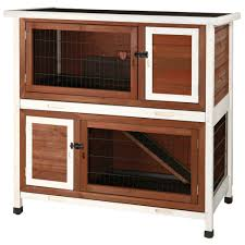 Heavy Duty Rabbit Hutch Trixie 3 75 Ft X 2 Ft X 3 5 Ft Medium 2 Story Rabbit Hutch In