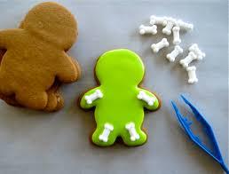 easy halloween skeleton cookies melissa joy cookies