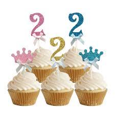 decoration cupcake anniversaire achetez en gros b u0026eacute b u0026eacute g u0026acirc teau d u0026 39 anniversaire
