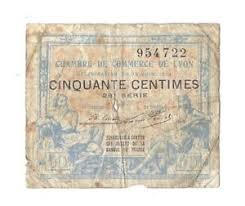 chambre du commerce lyon 50 centimes 1917 chambres de commerce lyon in vg ebay