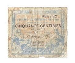 chambre commerce lyon 50 centimes 1917 chambres de commerce lyon in vg ebay