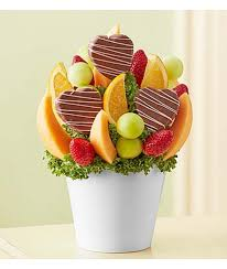 edible fruit bouquets pineapple treat by fruit bouquets cupcakedropoff