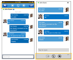 microsoft lync 2013 for android lync 2013 mobile starting adding and switching between