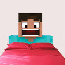 Headboard Wall Sticker by Steve Minecraft Wall And Headboard Decal Video Game Wall Decal