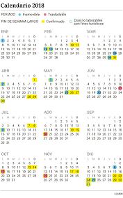 Calendario 2018 Feriados Portugal Feriados 2018 Cómo Quedó El Calendario Definitivo Año Que Viene
