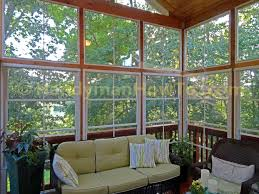 Inside Mount Window Treatments - eze breeze porch windows installation overview