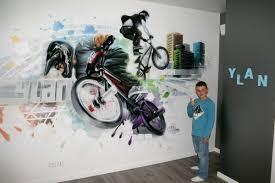modele chambre ado garcon chambres de garçons décoration graffiti page 3 sur 12 deco