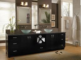 bathrooms with black cabinets innovative home design