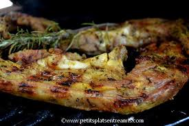 cuisiner le tendron de veau tendron de veau citron romarin au barbecue petits plats entre amis