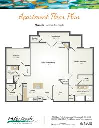 New Floor Plan Senior Living Floor Plans Holly Creek Retirement Community